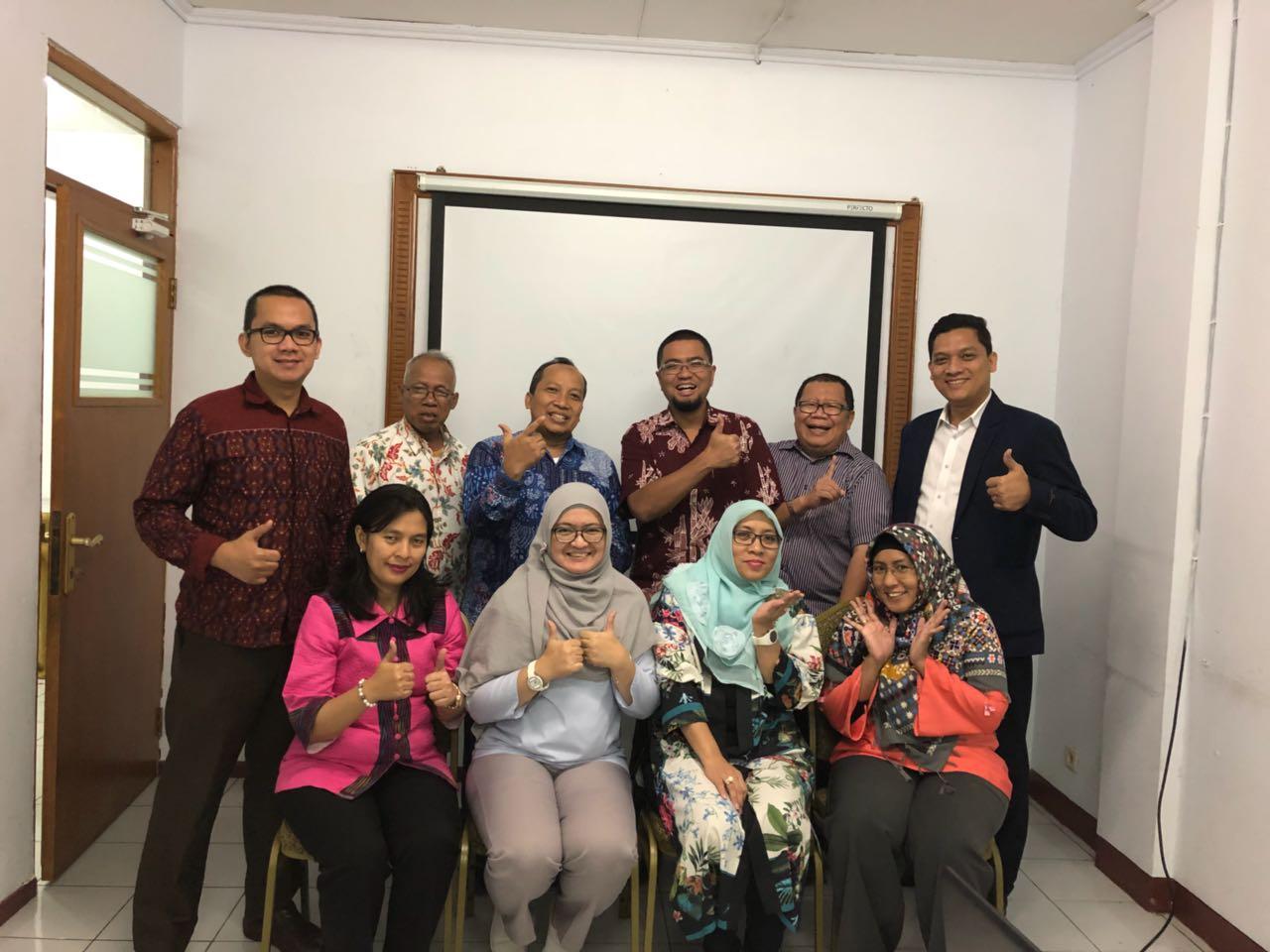 Rapat Pengurus IAI Jakarta, 30 Januari 2018