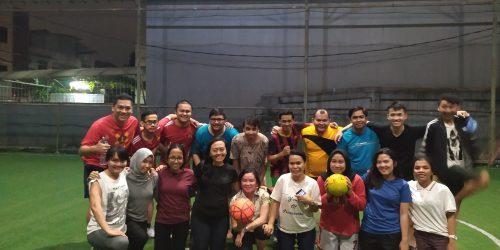 Kegiatan Olahraga Futsal Di Kuningan Village Tanggal 15 April 2019
