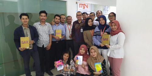 Training Dengan Materi Akuntansi Employee Benefit, Konsolidasi & Bisnis Kombinasi Dengan Pembicara Bapak Ahalik M.Si, M.Ak, CPA, CA