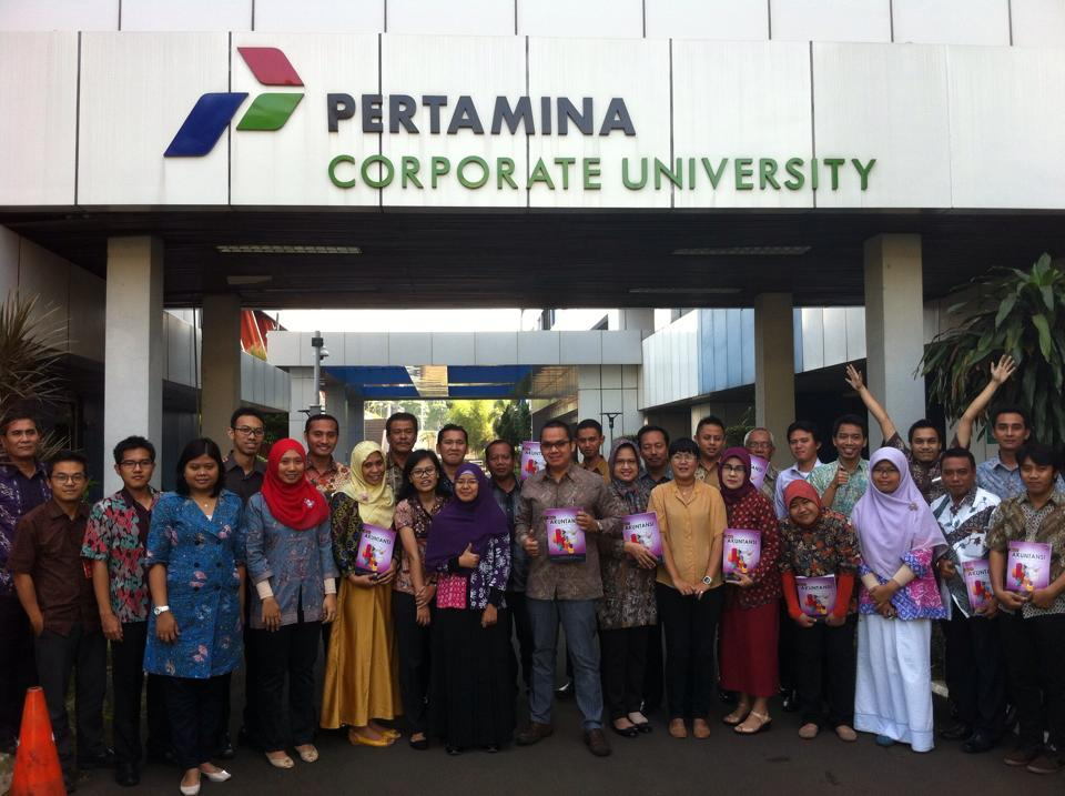 Bpk. Ahalik Teaching For Pertamina Employe