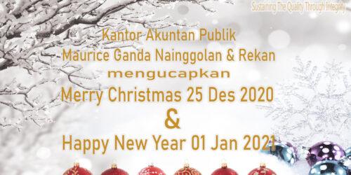 Kartu Ucapan Natal Kantor Akuntan Publik Maurice Ganda Nainggolan